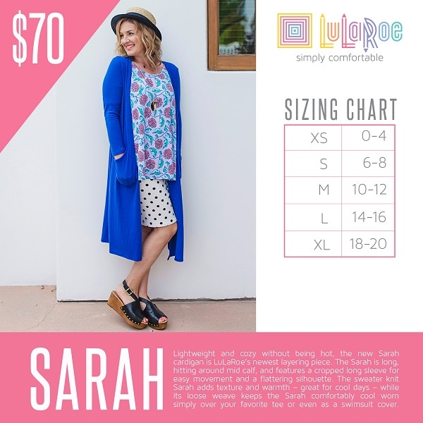 LuLaRoe Styles Sizes And Pricing LLR By Julie Cox - Lularoe map pricing
